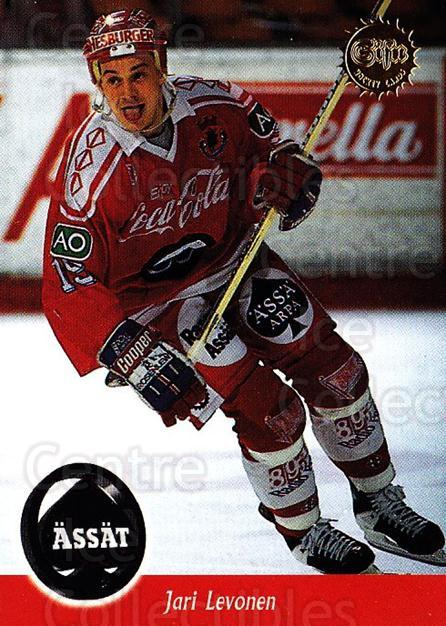 1994-95 Finnish SISU #15 Jari Levonen<br/>5 In Stock - $2.00 each - <a href=https://centericecollectibles.foxycart.com/cart?name=1994-95%20Finnish%20SISU%20%2315%20Jari%20Levonen...&quantity_max=5&price=$2.00&code=964 class=foxycart> Buy it now! </a>