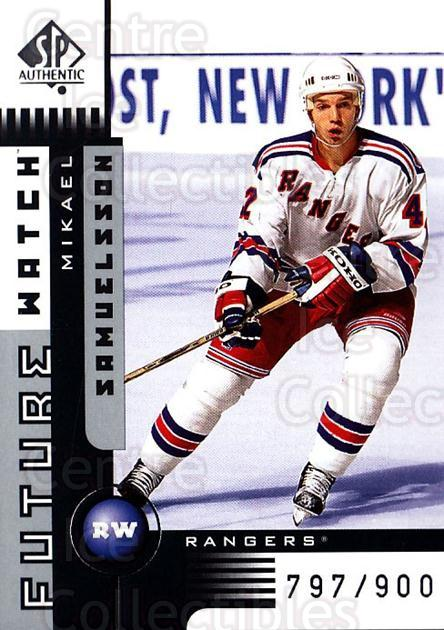 2001-02 SP Authentic #162 Mikael Samuelsson<br/>1 In Stock - $5.00 each - <a href=https://centericecollectibles.foxycart.com/cart?name=2001-02%20SP%20Authentic%20%23162%20Mikael%20Samuelss...&quantity_max=1&price=$5.00&code=96501 class=foxycart> Buy it now! </a>