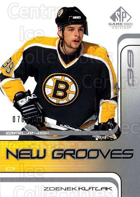 2001-02 SP Game Used #67 Zdenek Kutlak<br/>4 In Stock - $5.00 each - <a href=https://centericecollectibles.foxycart.com/cart?name=2001-02%20SP%20Game%20Used%20%2367%20Zdenek%20Kutlak...&quantity_max=4&price=$5.00&code=96638 class=foxycart> Buy it now! </a>