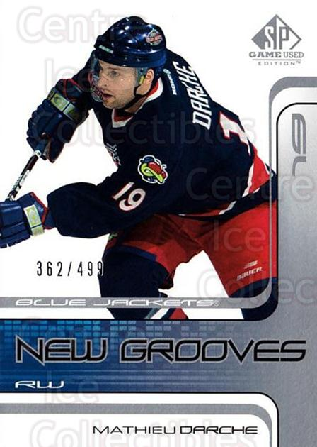2001-02 SP Game Used #72 Mathieu Darche<br/>4 In Stock - $5.00 each - <a href=https://centericecollectibles.foxycart.com/cart?name=2001-02%20SP%20Game%20Used%20%2372%20Mathieu%20Darche...&quantity_max=4&price=$5.00&code=96643 class=foxycart> Buy it now! </a>