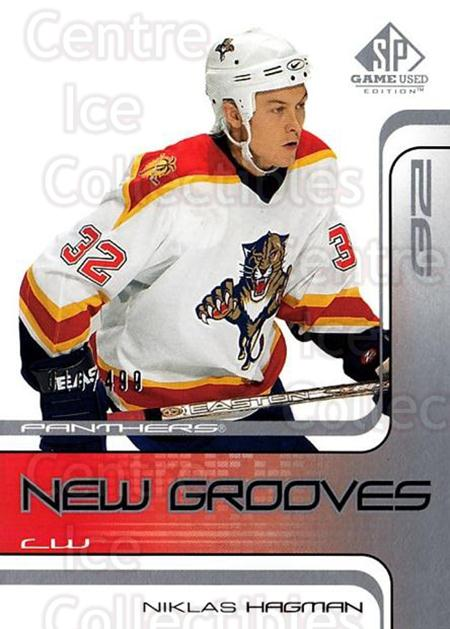 2001-02 SP Game Used #78 Niklas Hagman<br/>1 In Stock - $5.00 each - <a href=https://centericecollectibles.foxycart.com/cart?name=2001-02%20SP%20Game%20Used%20%2378%20Niklas%20Hagman...&quantity_max=1&price=$5.00&code=96645 class=foxycart> Buy it now! </a>