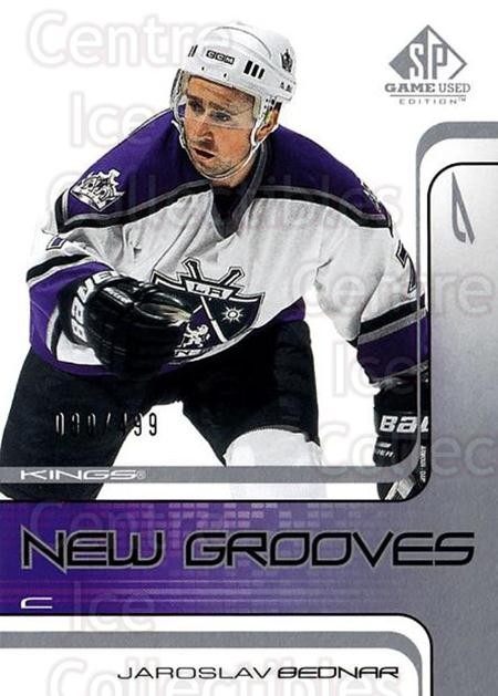 2001-02 SP Game Used #80 Jaroslav Bednar<br/>7 In Stock - $5.00 each - <a href=https://centericecollectibles.foxycart.com/cart?name=2001-02%20SP%20Game%20Used%20%2380%20Jaroslav%20Bednar...&quantity_max=7&price=$5.00&code=96647 class=foxycart> Buy it now! </a>