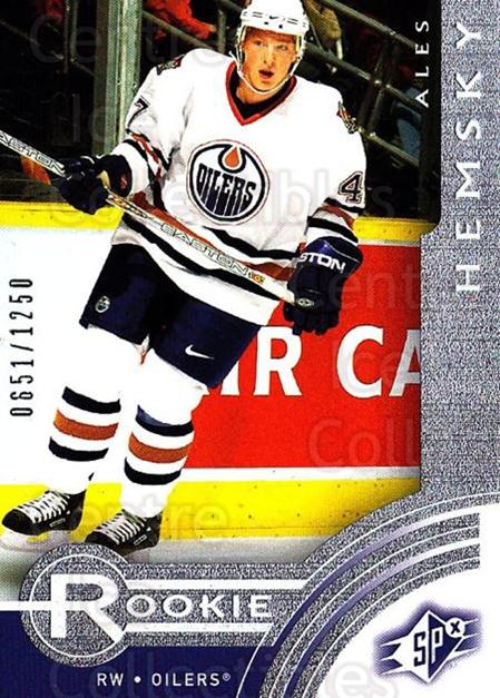 2001-02 SPx Rookie Redeemed #12 Ales Hemsky<br/>2 In Stock - $5.00 each - <a href=https://centericecollectibles.foxycart.com/cart?name=2001-02%20SPx%20Rookie%20Redeemed%20%2312%20Ales%20Hemsky...&quantity_max=2&price=$5.00&code=96688 class=foxycart> Buy it now! </a>