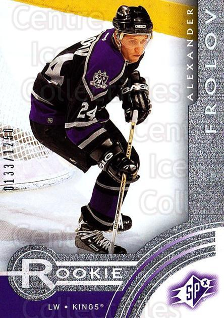 2001-02 SPx Rookie Redeemed #14 Alexander Frolov<br/>10 In Stock - $5.00 each - <a href=https://centericecollectibles.foxycart.com/cart?name=2001-02%20SPx%20Rookie%20Redeemed%20%2314%20Alexander%20Frolo...&quantity_max=10&price=$5.00&code=96690 class=foxycart> Buy it now! </a>