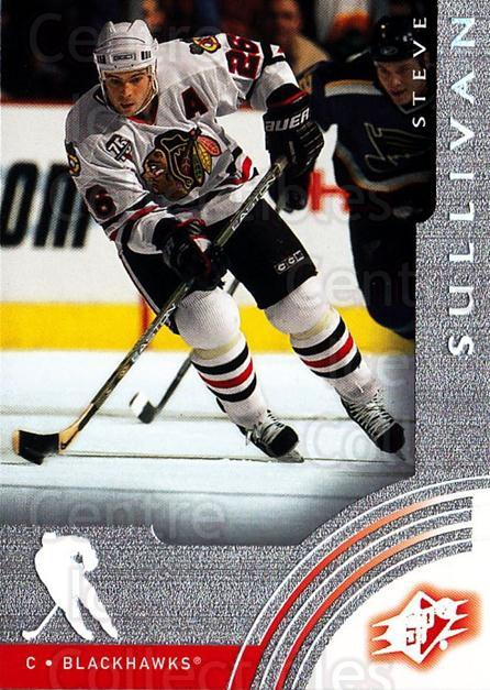 2001-02 SPx #12 Steve Sullivan<br/>6 In Stock - $1.00 each - <a href=https://centericecollectibles.foxycart.com/cart?name=2001-02%20SPx%20%2312%20Steve%20Sullivan...&quantity_max=6&price=$1.00&code=96717 class=foxycart> Buy it now! </a>