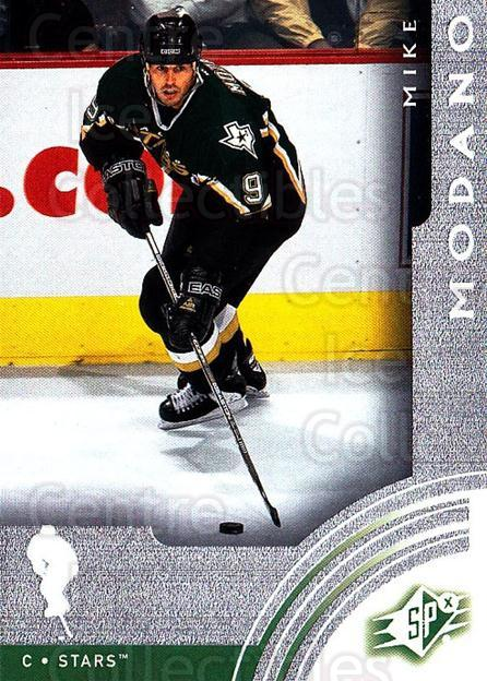 2001-02 SPx #19 Mike Modano<br/>6 In Stock - $1.00 each - <a href=https://centericecollectibles.foxycart.com/cart?name=2001-02%20SPx%20%2319%20Mike%20Modano...&quantity_max=6&price=$1.00&code=96773 class=foxycart> Buy it now! </a>
