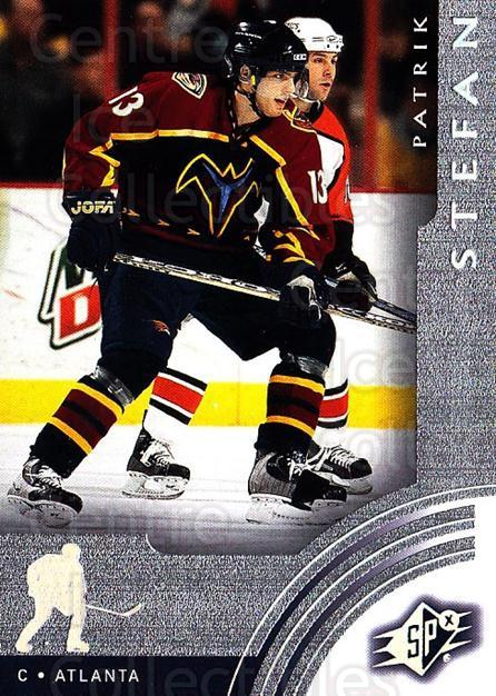 2001-02 SPx #2 Patrik Stefan<br/>6 In Stock - $1.00 each - <a href=https://centericecollectibles.foxycart.com/cart?name=2001-02%20SPx%20%232%20Patrik%20Stefan...&quantity_max=6&price=$1.00&code=96782 class=foxycart> Buy it now! </a>