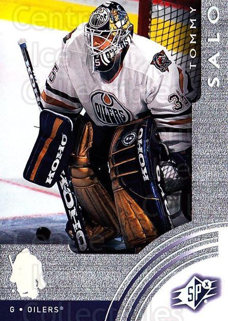 2001-02 SPx #27 Tommy Salo<br/>6 In Stock - $1.00 each - <a href=https://centericecollectibles.foxycart.com/cart?name=2001-02%20SPx%20%2327%20Tommy%20Salo...&quantity_max=6&price=$1.00&code=96802 class=foxycart> Buy it now! </a>