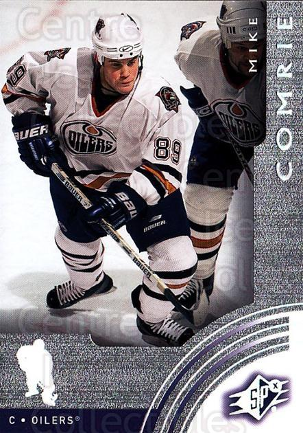 2001-02 SPx #28 Mike Comrie<br/>6 In Stock - $1.00 each - <a href=https://centericecollectibles.foxycart.com/cart?name=2001-02%20SPx%20%2328%20Mike%20Comrie...&quantity_max=6&price=$1.00&code=96803 class=foxycart> Buy it now! </a>