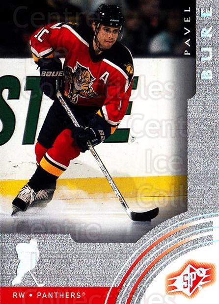 2001-02 SPx #29 Pavel Bure<br/>5 In Stock - $1.00 each - <a href=https://centericecollectibles.foxycart.com/cart?name=2001-02%20SPx%20%2329%20Pavel%20Bure...&quantity_max=5&price=$1.00&code=96804 class=foxycart> Buy it now! </a>