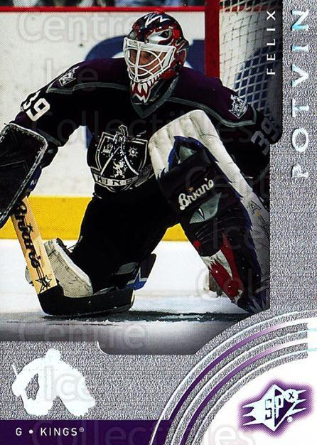 2001-02 SPx #31 Felix Potvin<br/>5 In Stock - $1.00 each - <a href=https://centericecollectibles.foxycart.com/cart?name=2001-02%20SPx%20%2331%20Felix%20Potvin...&quantity_max=5&price=$1.00&code=96807 class=foxycart> Buy it now! </a>