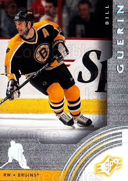 2001-02 SPx #5 Bill Guerin<br/>6 In Stock - $1.00 each - <a href=https://centericecollectibles.foxycart.com/cart?name=2001-02%20SPx%20%235%20Bill%20Guerin...&quantity_max=6&price=$1.00&code=96825 class=foxycart> Buy it now! </a>