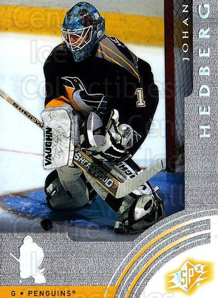 2001-02 SPx #53 Johan Hedberg<br/>5 In Stock - $1.00 each - <a href=https://centericecollectibles.foxycart.com/cart?name=2001-02%20SPx%20%2353%20Johan%20Hedberg...&quantity_max=5&price=$1.00&code=96829 class=foxycart> Buy it now! </a>