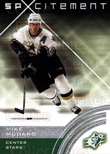 2001-02 SPx #73 Mike Modano<br/>6 In Stock - $1.00 each - <a href=https://centericecollectibles.foxycart.com/cart?name=2001-02%20SPx%20%2373%20Mike%20Modano...&quantity_max=6&price=$1.00&code=96851 class=foxycart> Buy it now! </a>