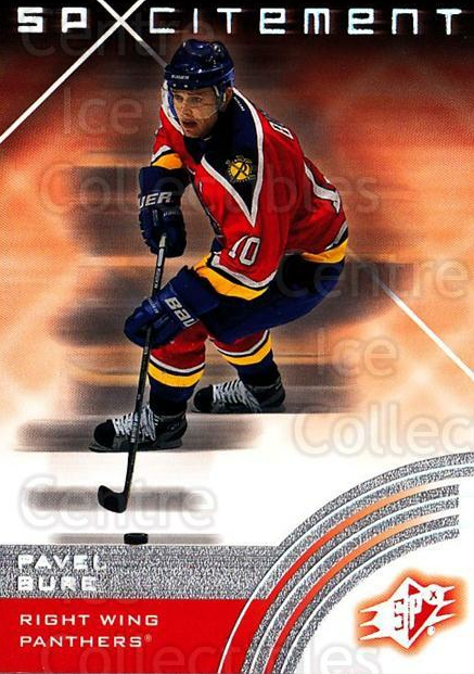 2001-02 SPx #76 Pavel Bure<br/>4 In Stock - $1.00 each - <a href=https://centericecollectibles.foxycart.com/cart?name=2001-02%20SPx%20%2376%20Pavel%20Bure...&quantity_max=4&price=$1.00&code=96854 class=foxycart> Buy it now! </a>