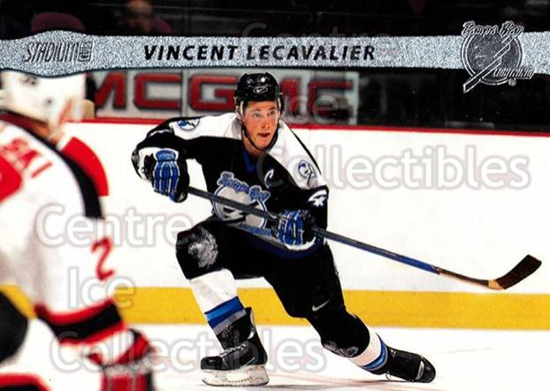 2001-02 Stadium Club #14 Vincent Lecavalier<br/>10 In Stock - $1.00 each - <a href=https://centericecollectibles.foxycart.com/cart?name=2001-02%20Stadium%20Club%20%2314%20Vincent%20Lecaval...&quantity_max=10&price=$1.00&code=96938 class=foxycart> Buy it now! </a>