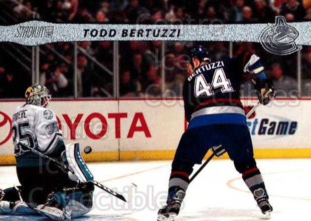 2001-02 Stadium Club #65 Todd Bertuzzi<br/>9 In Stock - $1.00 each - <a href=https://centericecollectibles.foxycart.com/cart?name=2001-02%20Stadium%20Club%20%2365%20Todd%20Bertuzzi...&quantity_max=9&price=$1.00&code=96992 class=foxycart> Buy it now! </a>