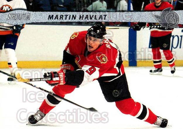 2001-02 Stadium Club #79 Martin Havlat<br/>8 In Stock - $1.00 each - <a href=https://centericecollectibles.foxycart.com/cart?name=2001-02%20Stadium%20Club%20%2379%20Martin%20Havlat...&quantity_max=8&price=$1.00&code=97007 class=foxycart> Buy it now! </a>