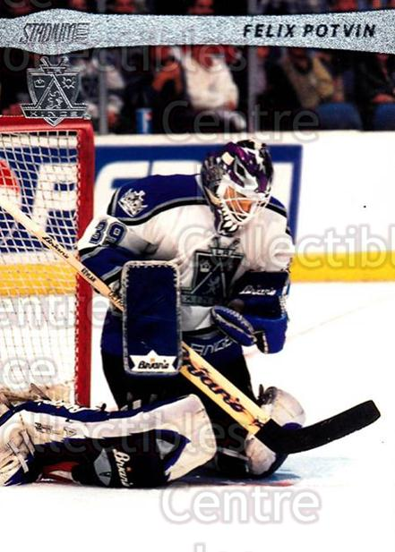 2001-02 Stadium Club #92 Felix Potvin<br/>4 In Stock - $1.00 each - <a href=https://centericecollectibles.foxycart.com/cart?name=2001-02%20Stadium%20Club%20%2392%20Felix%20Potvin...&quantity_max=4&price=$1.00&code=97022 class=foxycart> Buy it now! </a>