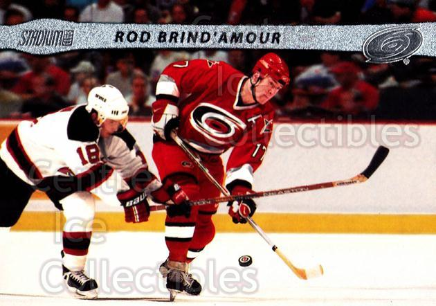2001-02 Stadium Club #95 Rod Brind'Amour<br/>10 In Stock - $1.00 each - <a href=https://centericecollectibles.foxycart.com/cart?name=2001-02%20Stadium%20Club%20%2395%20Rod%20Brind'Amour...&quantity_max=10&price=$1.00&code=97025 class=foxycart> Buy it now! </a>