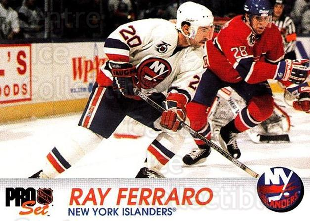 1992-93 Pro Set #105 Ray Ferraro<br/>6 In Stock - $1.00 each - <a href=https://centericecollectibles.foxycart.com/cart?name=1992-93%20Pro%20Set%20%23105%20Ray%20Ferraro...&quantity_max=6&price=$1.00&code=9703 class=foxycart> Buy it now! </a>