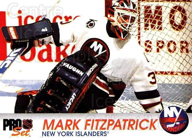 1992-93 Pro Set #107 Mark Fitzpatrick<br/>5 In Stock - $1.00 each - <a href=https://centericecollectibles.foxycart.com/cart?name=1992-93%20Pro%20Set%20%23107%20Mark%20Fitzpatric...&quantity_max=5&price=$1.00&code=9705 class=foxycart> Buy it now! </a>