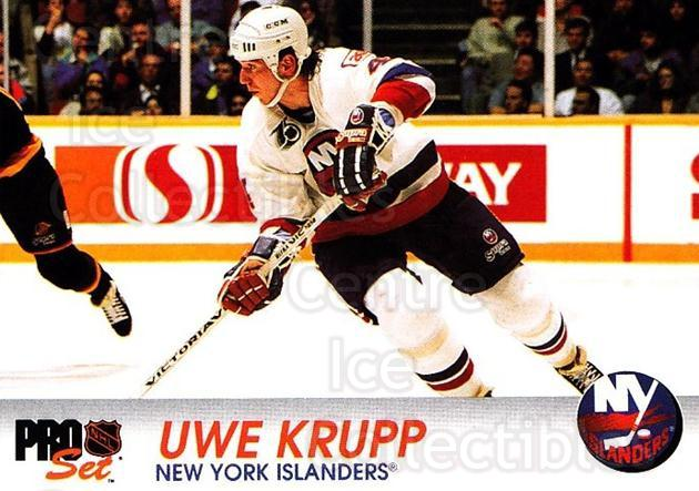 1992-93 Pro Set #109 Uwe Krupp<br/>3 In Stock - $1.00 each - <a href=https://centericecollectibles.foxycart.com/cart?name=1992-93%20Pro%20Set%20%23109%20Uwe%20Krupp...&quantity_max=3&price=$1.00&code=9707 class=foxycart> Buy it now! </a>