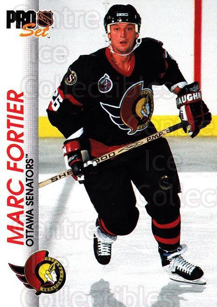 1992-93 Pro Set #128 Marc Fortier<br/>3 In Stock - $1.00 each - <a href=https://centericecollectibles.foxycart.com/cart?name=1992-93%20Pro%20Set%20%23128%20Marc%20Fortier...&quantity_max=3&price=$1.00&code=9726 class=foxycart> Buy it now! </a>