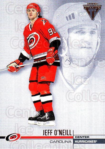 2001-02 Titanium Retail #27 Jeff O'Neill<br/>7 In Stock - $1.00 each - <a href=https://centericecollectibles.foxycart.com/cart?name=2001-02%20Titanium%20Retail%20%2327%20Jeff%20O'Neill...&quantity_max=7&price=$1.00&code=97289 class=foxycart> Buy it now! </a>