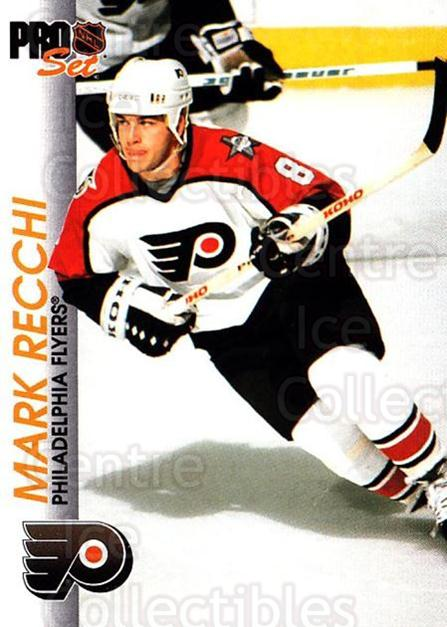 1992-93 Pro Set #131 Mark Recchi<br/>4 In Stock - $1.00 each - <a href=https://centericecollectibles.foxycart.com/cart?name=1992-93%20Pro%20Set%20%23131%20Mark%20Recchi...&quantity_max=4&price=$1.00&code=9730 class=foxycart> Buy it now! </a>