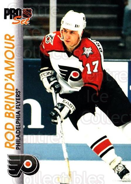 1992-93 Pro Set #132 Rod Brind'Amour<br/>6 In Stock - $1.00 each - <a href=https://centericecollectibles.foxycart.com/cart?name=1992-93%20Pro%20Set%20%23132%20Rod%20Brind'Amour...&quantity_max=6&price=$1.00&code=9731 class=foxycart> Buy it now! </a>
