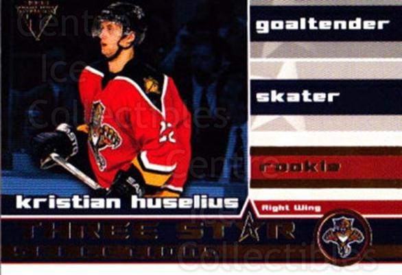 2001-02 Titanium Three-Star Selections #26 Kristian Huselius<br/>3 In Stock - $2.00 each - <a href=https://centericecollectibles.foxycart.com/cart?name=2001-02%20Titanium%20Three-Star%20Selections%20%2326%20Kristian%20Huseli...&quantity_max=3&price=$2.00&code=97349 class=foxycart> Buy it now! </a>
