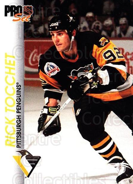 1992-93 Pro Set #138 Rick Tocchet<br/>6 In Stock - $1.00 each - <a href=https://centericecollectibles.foxycart.com/cart?name=1992-93%20Pro%20Set%20%23138%20Rick%20Tocchet...&quantity_max=6&price=$1.00&code=9737 class=foxycart> Buy it now! </a>