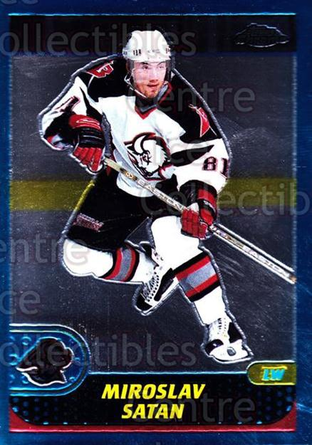 2001-02 Topps Chrome #103 Miroslav Satan<br/>5 In Stock - $1.00 each - <a href=https://centericecollectibles.foxycart.com/cart?name=2001-02%20Topps%20Chrome%20%23103%20Miroslav%20Satan...&quantity_max=5&price=$1.00&code=97623 class=foxycart> Buy it now! </a>