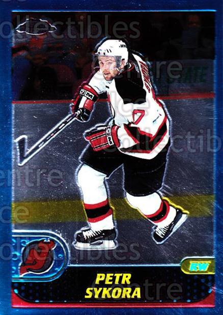 2001-02 Topps Chrome #109 Petr Sykora<br/>3 In Stock - $1.00 each - <a href=https://centericecollectibles.foxycart.com/cart?name=2001-02%20Topps%20Chrome%20%23109%20Petr%20Sykora...&quantity_max=3&price=$1.00&code=97629 class=foxycart> Buy it now! </a>