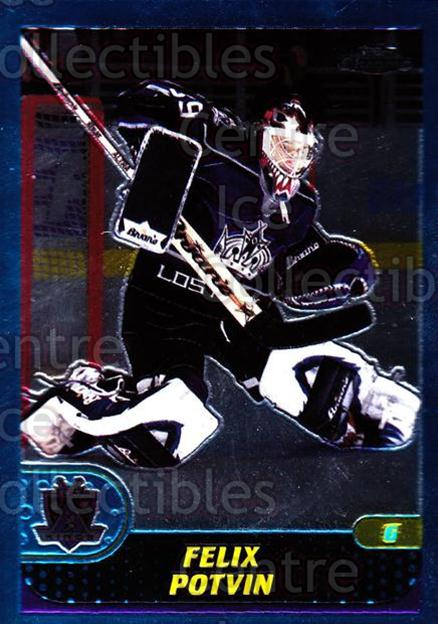 2001-02 Topps Chrome #119 Felix Potvin<br/>3 In Stock - $1.00 each - <a href=https://centericecollectibles.foxycart.com/cart?name=2001-02%20Topps%20Chrome%20%23119%20Felix%20Potvin...&quantity_max=3&price=$1.00&code=97640 class=foxycart> Buy it now! </a>