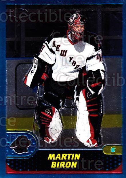 2001-02 Topps Chrome #130 Martin Biron<br/>3 In Stock - $1.00 each - <a href=https://centericecollectibles.foxycart.com/cart?name=2001-02%20Topps%20Chrome%20%23130%20Martin%20Biron...&quantity_max=3&price=$1.00&code=97653 class=foxycart> Buy it now! </a>
