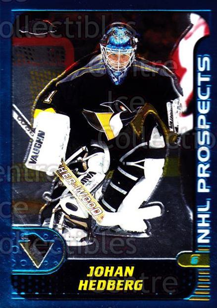 2001-02 Topps Chrome #146 Johan Hedberg<br/>4 In Stock - $1.00 each - <a href=https://centericecollectibles.foxycart.com/cart?name=2001-02%20Topps%20Chrome%20%23146%20Johan%20Hedberg...&quantity_max=4&price=$1.00&code=97670 class=foxycart> Buy it now! </a>