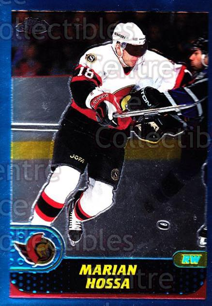 2001-02 Topps Chrome #29 Marian Hossa<br/>5 In Stock - $1.00 each - <a href=https://centericecollectibles.foxycart.com/cart?name=2001-02%20Topps%20Chrome%20%2329%20Marian%20Hossa...&quantity_max=5&price=$1.00&code=97718 class=foxycart> Buy it now! </a>