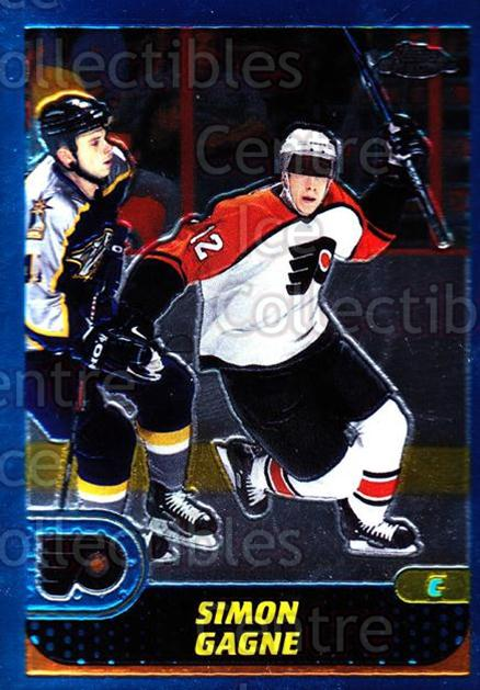2001-02 Topps Chrome #65 Simon Gagne<br/>4 In Stock - $1.00 each - <a href=https://centericecollectibles.foxycart.com/cart?name=2001-02%20Topps%20Chrome%20%2365%20Simon%20Gagne...&quantity_max=4&price=$1.00&code=97758 class=foxycart> Buy it now! </a>
