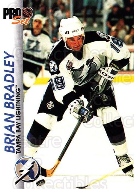 1992-93 Pro Set #174 Brian Bradley<br/>6 In Stock - $1.00 each - <a href=https://centericecollectibles.foxycart.com/cart?name=1992-93%20Pro%20Set%20%23174%20Brian%20Bradley...&quantity_max=6&price=$1.00&code=9776 class=foxycart> Buy it now! </a>