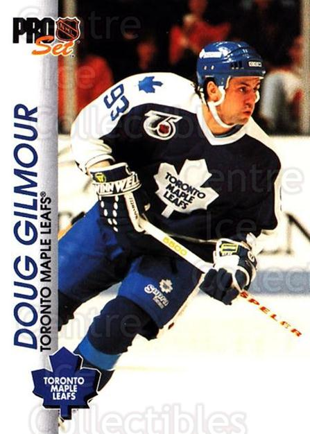 1992-93 Pro Set #184 Doug Gilmour<br/>1 In Stock - $1.00 each - <a href=https://centericecollectibles.foxycart.com/cart?name=1992-93%20Pro%20Set%20%23184%20Doug%20Gilmour...&quantity_max=1&price=$1.00&code=9787 class=foxycart> Buy it now! </a>