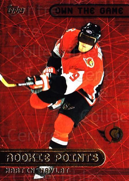 2001-02 Topps Own The Game #13 Martin Havlat<br/>3 In Stock - $2.00 each - <a href=https://centericecollectibles.foxycart.com/cart?name=2001-02%20Topps%20Own%20The%20Game%20%2313%20Martin%20Havlat...&quantity_max=3&price=$2.00&code=98028 class=foxycart> Buy it now! </a>