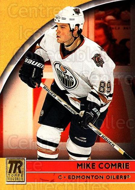 2001-02 Topps Reserve #14 Mike Comrie<br/>3 In Stock - $1.00 each - <a href=https://centericecollectibles.foxycart.com/cart?name=2001-02%20Topps%20Reserve%20%2314%20Mike%20Comrie...&quantity_max=3&price=$1.00&code=98076 class=foxycart> Buy it now! </a>
