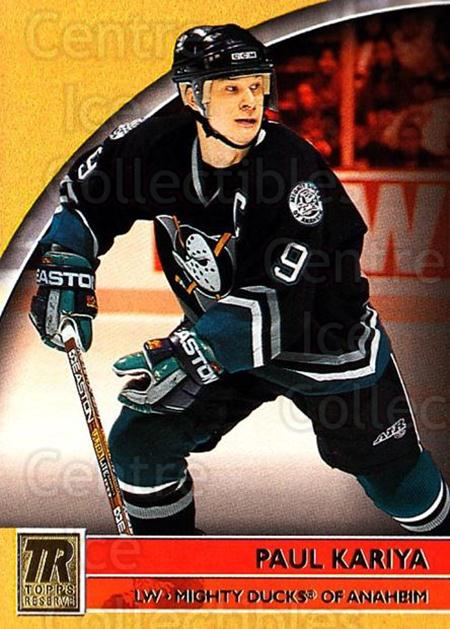 2001-02 Topps Reserve #18 Paul Kariya<br/>2 In Stock - $1.00 each - <a href=https://centericecollectibles.foxycart.com/cart?name=2001-02%20Topps%20Reserve%20%2318%20Paul%20Kariya...&quantity_max=2&price=$1.00&code=98080 class=foxycart> Buy it now! </a>