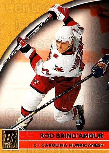 2001-02 Topps Reserve #25 Rod Brind'Amour<br/>2 In Stock - $1.00 each - <a href=https://centericecollectibles.foxycart.com/cart?name=2001-02%20Topps%20Reserve%20%2325%20Rod%20Brind'Amour...&quantity_max=2&price=$1.00&code=98085 class=foxycart> Buy it now! </a>