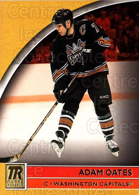 2001-02 Topps Reserve #34 Adam Oates<br/>2 In Stock - $1.00 each - <a href=https://centericecollectibles.foxycart.com/cart?name=2001-02%20Topps%20Reserve%20%2334%20Adam%20Oates...&quantity_max=2&price=$1.00&code=98092 class=foxycart> Buy it now! </a>