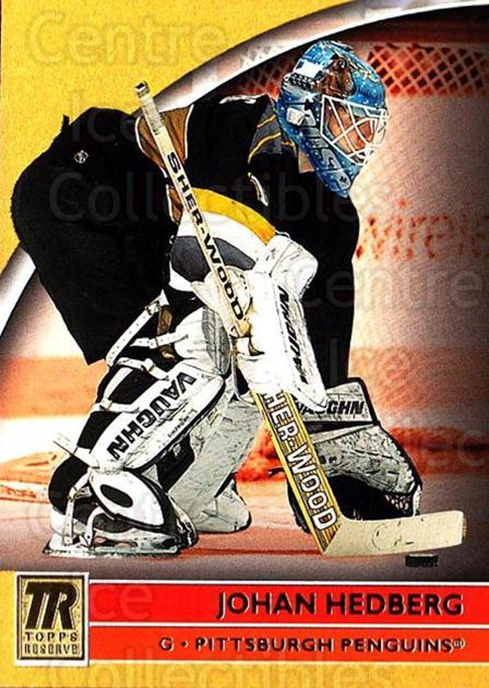 2001-02 Topps Reserve #35 Johan Hedberg<br/>2 In Stock - $1.00 each - <a href=https://centericecollectibles.foxycart.com/cart?name=2001-02%20Topps%20Reserve%20%2335%20Johan%20Hedberg...&quantity_max=2&price=$1.00&code=98093 class=foxycart> Buy it now! </a>