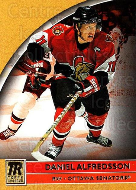 2001-02 Topps Reserve #41 Daniel Alfredsson<br/>2 In Stock - $1.00 each - <a href=https://centericecollectibles.foxycart.com/cart?name=2001-02%20Topps%20Reserve%20%2341%20Daniel%20Alfredss...&quantity_max=2&price=$1.00&code=98096 class=foxycart> Buy it now! </a>