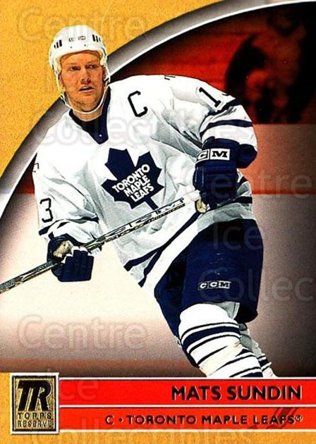 2001-02 Topps Reserve #43 Mats Sundin<br/>2 In Stock - $1.00 each - <a href=https://centericecollectibles.foxycart.com/cart?name=2001-02%20Topps%20Reserve%20%2343%20Mats%20Sundin...&quantity_max=2&price=$1.00&code=98098 class=foxycart> Buy it now! </a>
